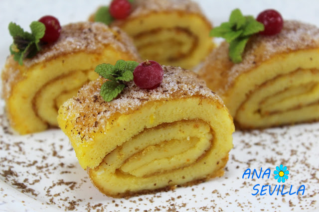 Torta de naranja portuguesa cocina tradicional.Ana Sevilla