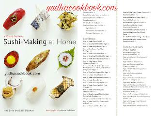 Sushi making cookbook, Handmade sushi cook book, Sushi Professional ebook