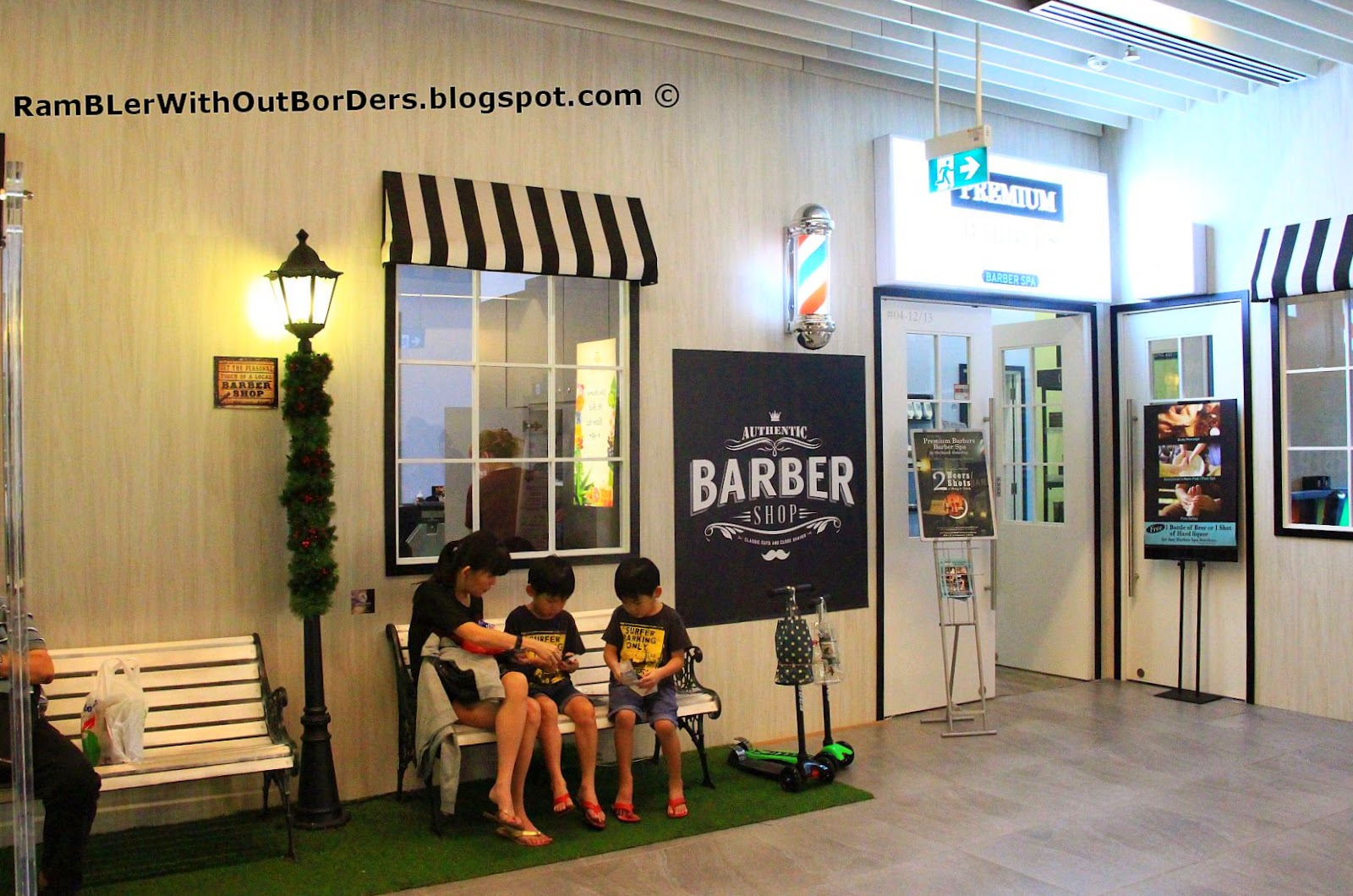 Premium Barbers, Orchard Gateway, Singapore