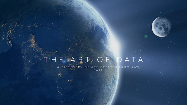 discover art created using raw data, beechhouse media, Mark Taylor,