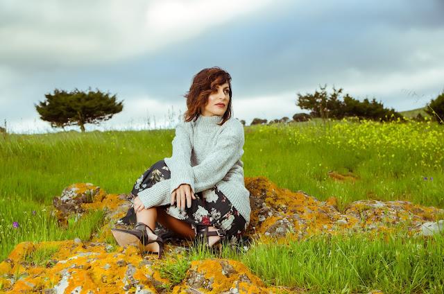 Flowers-Skirt