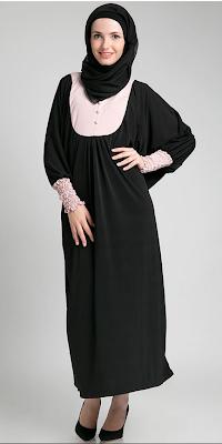 Foto Baju Dress Muslim Masa Kini