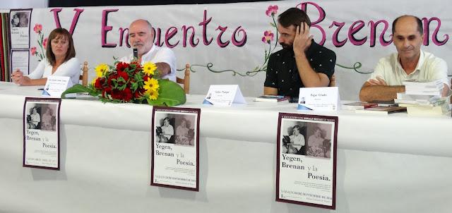V ENCUENTRO CON GERALD BRENAN EN YEGEN: La poesía de Gerald Brenan y Emilio Pelegrina
