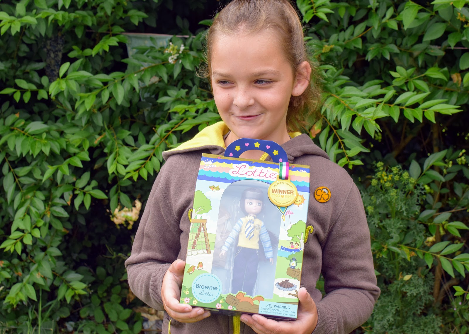 , Win a Brownie Lottie Doll