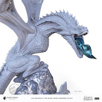 SDCC Dark Horse Direct Game of Thrones Ice Dragon and The Night King Statue 001