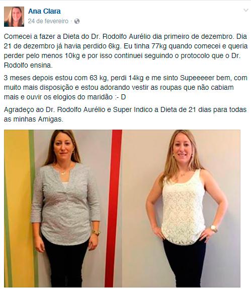 dieta de 21 dias dr. Rodolfo Aurelio