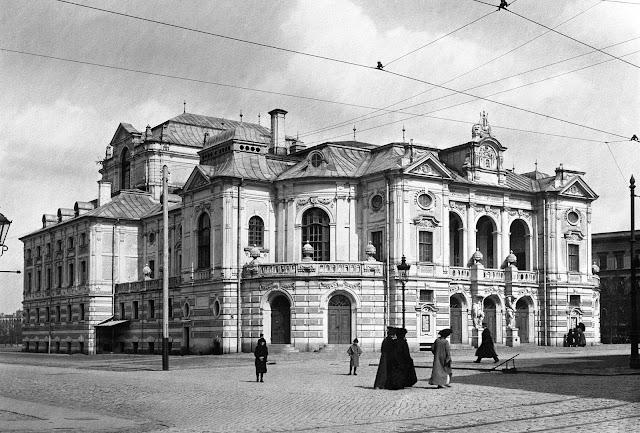 Конец 1910-х годов. Rīga. Второй городской (русский) театр (Nacionālais teātris)