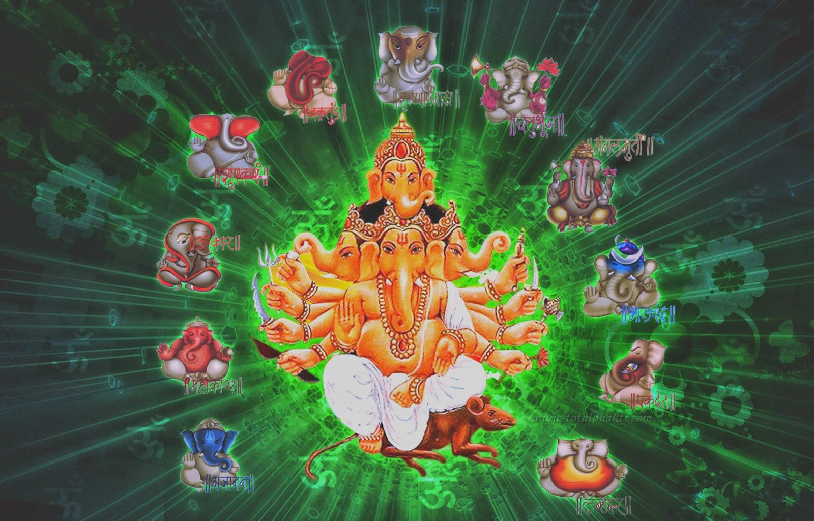Ganpati Bappa Morya, Free Full Size HD Wallpapers