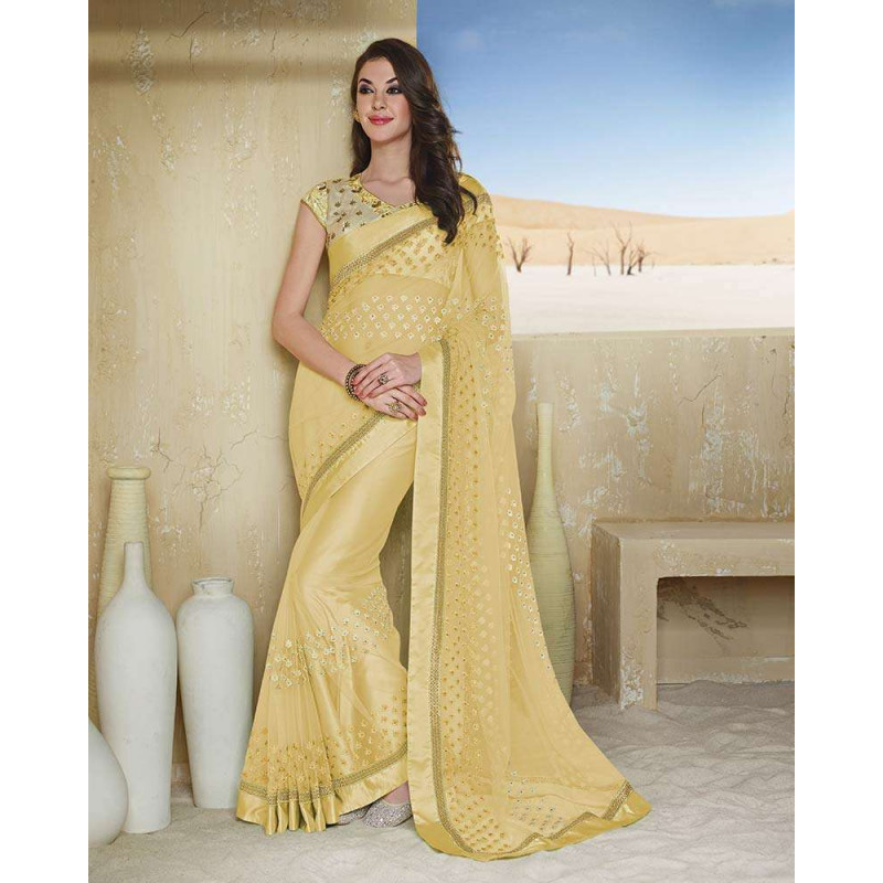 Net Saree - 5 Types of Sarees You Must Own For Summer Styling