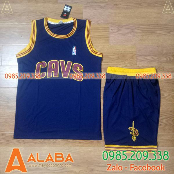 Áo bóng rổ trẻ em CAVS chất mát