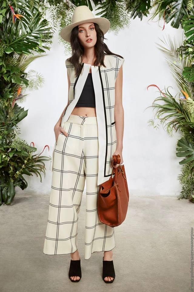 Moda primavera verano 2017 Maria Cher.