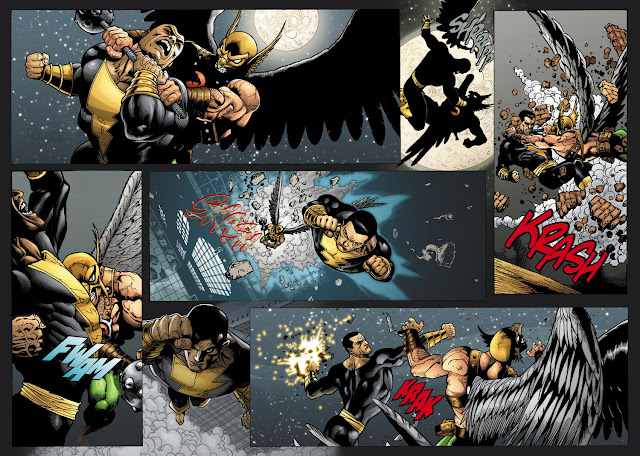 black adam comics