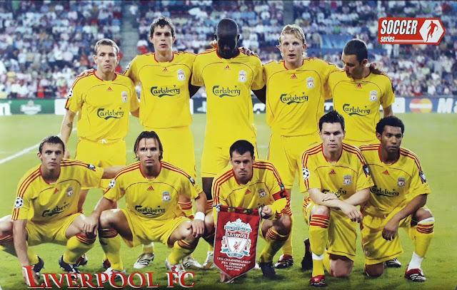 LIVERPOOL FC TEAM SQUAD 2006