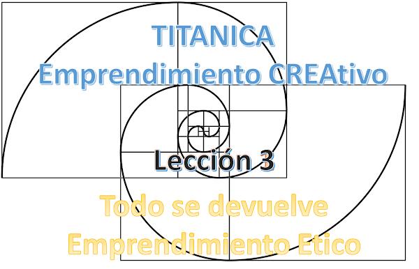 Lección 3: Todo se devuelve – Emprendimiento Ético
