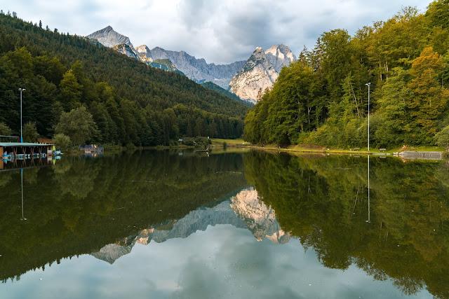 Entdeckungstouren Wasser Aulealm - Riessersee Runde + Die kleine Wank-Runde | Wandern Garmisch-Partenkirchen 03