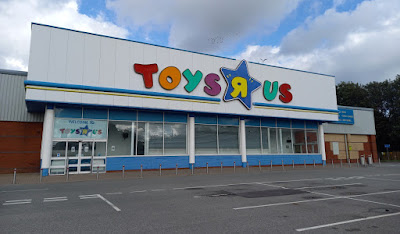 Toys R Us at the Deepdale shopping centre in Preston