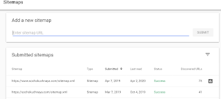 sitemap-submission-report-in-google-search-console in hindi
