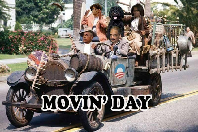 Obama Moving Day