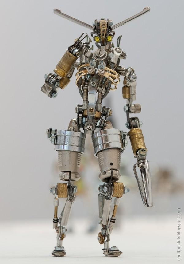 Coolfunclub Amazing Art Robots By Nagano Master