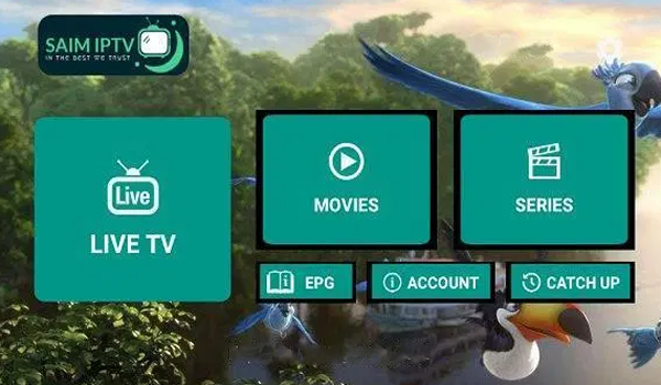 SAIM IPTV APK FILE WITH ACTIVATION CODE ALL COUNTRIES CHANNELS SPORTS MOVIES & MORE ENTERTAINIMENTS