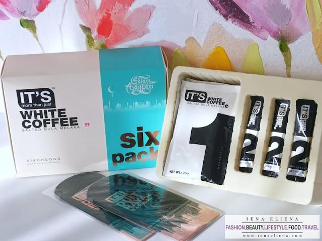 AIK CHEONG IT'S SIX PACK  White Coffee Salted Gula Melaka