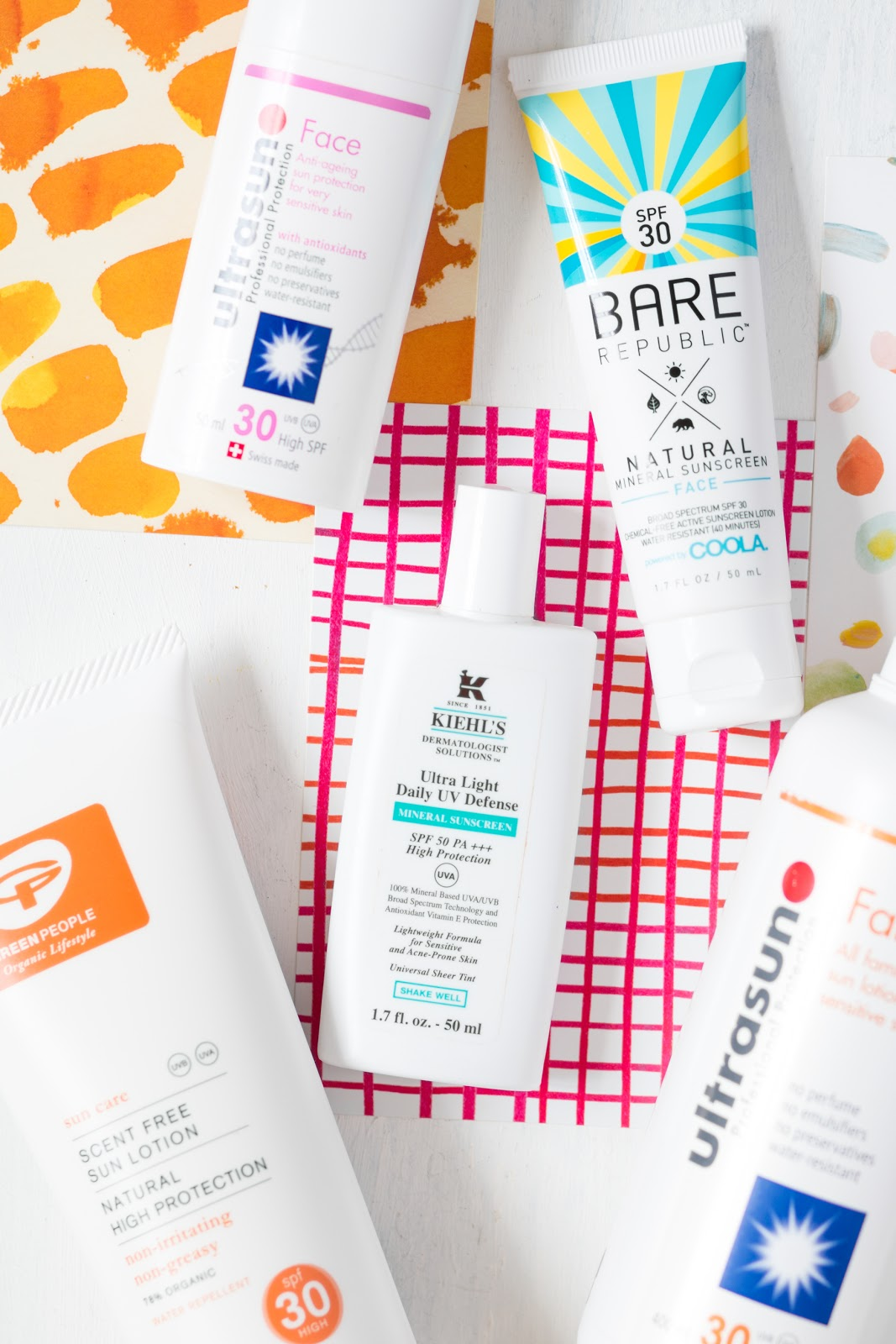 MY CRUELTY FREE + ACNE FRIENDLY SUNCREAM PICKS