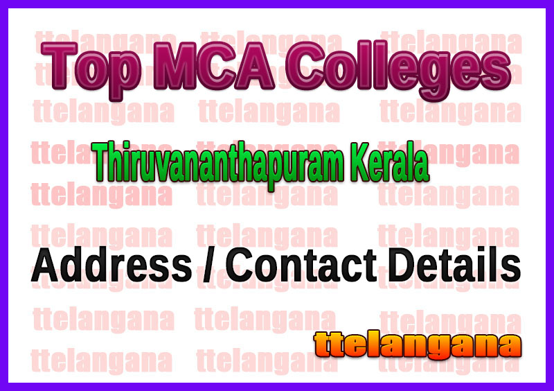 Top MCA Colleges in Thiruvananthapuram Kerala
