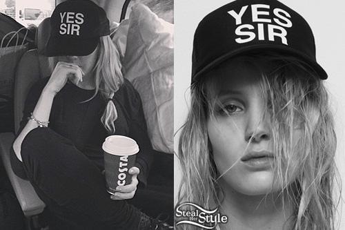 Ellie Goulding Yes Sir cap.  PYGear.com