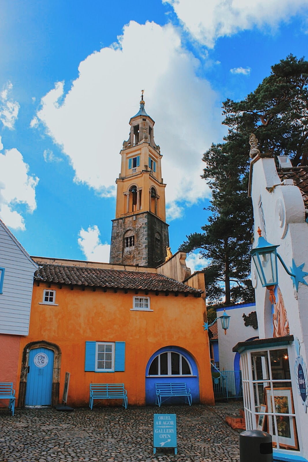 portmeirion wales, seaside places to visit uk, most beautiful village uk, must visit place uk, colourful village uk, indian blogger, london blog, uk travel blogger