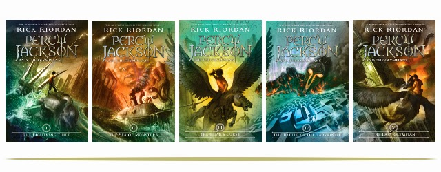 Percy Jackson and the Olympians Book Series for Tweens and Teens  |  www.9CoolThings.com