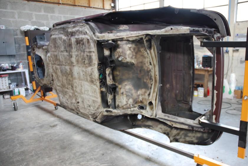 Atelier Carrosserie Sablage Réalisé  Porsche 911