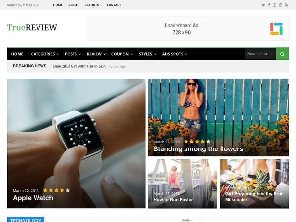 Template Wordpress Premium