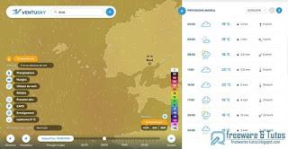 Ventusky 3 superbe service de météo interactive