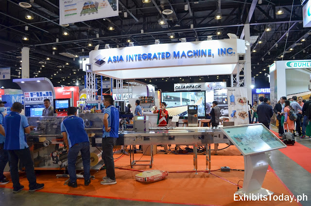 Asia Integrated Machine exhibit booth