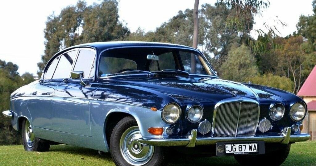FAB WHEELS DIGEST (F.W.D.): Jaguar 420G (1966-71)