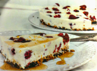 Raspberry Ricotta Cheesecake
