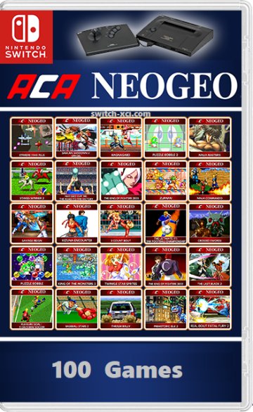 NEOGEO - ACA NEOGEO Collection of 100 Games Switch NSP