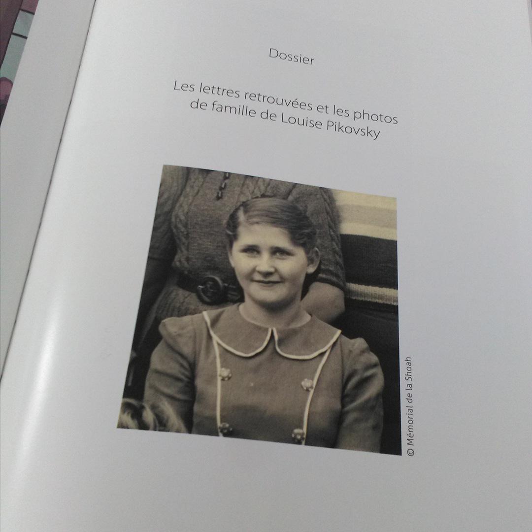 Si je reviens un jour... Les lettres retrouvées de Louise Pikovsky, de Stéphanie Trouillard et Thibaut Lambert - Voir les 10 photos (sur le blog)