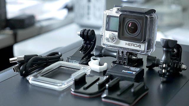 Spesifikasi Lengkap GoPro Hero 4 Black Edition Benar-Benar Action Cam Profesional