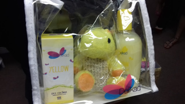 Kit infantil  yellow- belanaselfie