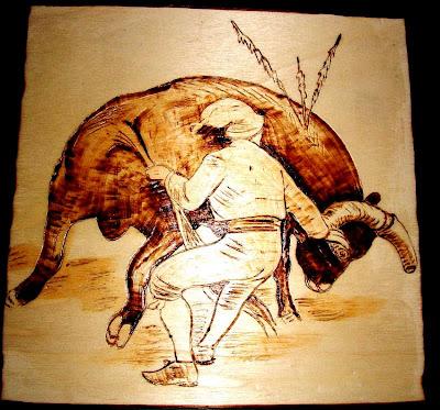 Tourada - pega de rabo