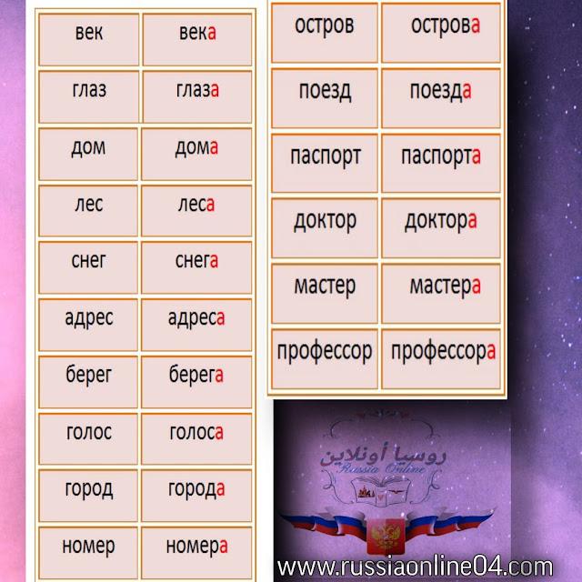 تعلم اللغة الروسية من الصفر