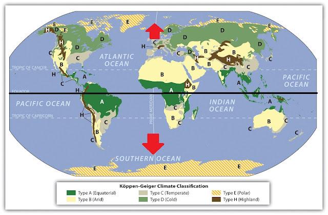 خط الاستواء الكرة الارضية