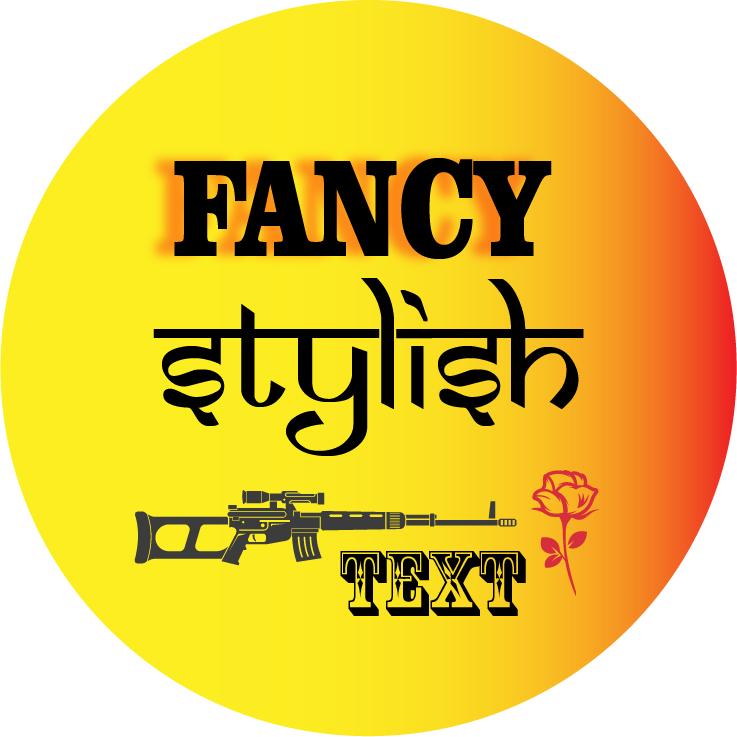 Fancy stylish text fot PUBG