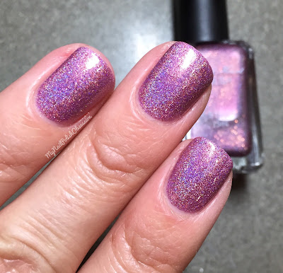 Addicted to Holos, February 2016; Sweet Heart Polish Love is the Berry