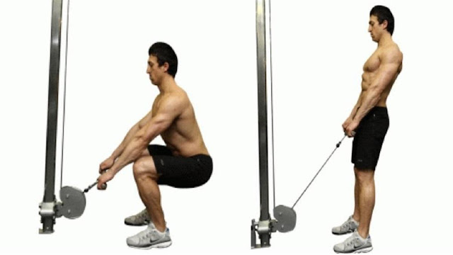 Cable squats - Newstrends