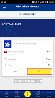 Cara Mendapatkan Gratis Kuota Youtube 1GB/Hari XL