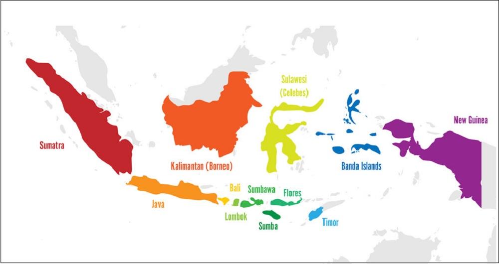 Peta Indonesia Vector