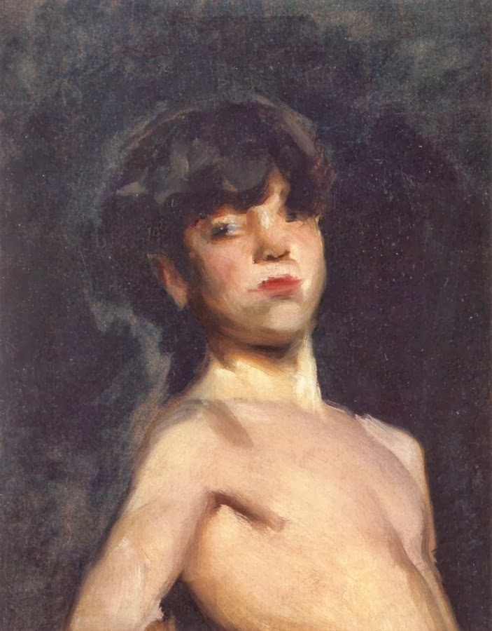 Artistic nude young boys