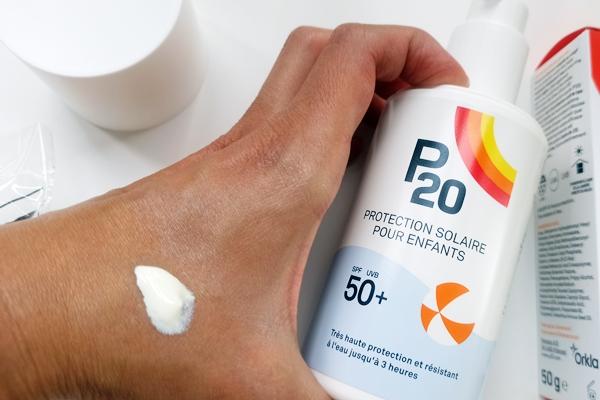 Probando P20 Proteccion Solar Niños